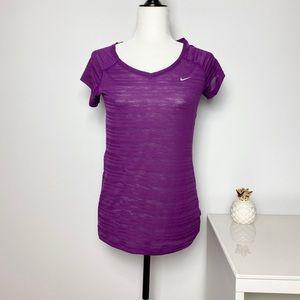 Nike Sheer Purple Top